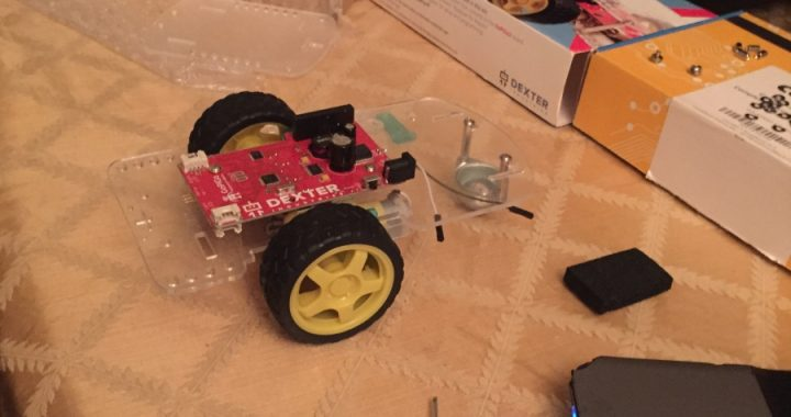 Prince G. assembled the GoPiGo and is ready to apply Google Cloud